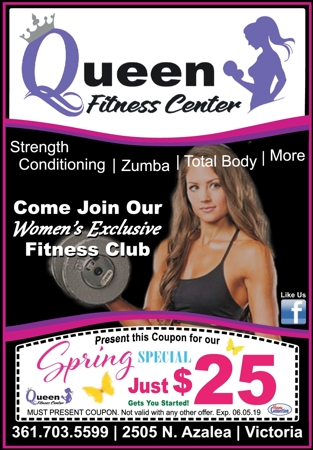 Queen 20fitness 20center 20  20vc 20  20apr may 202019
