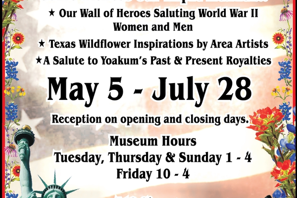 Yoakum 20heritage 20museum a 20beautiful 20salute 20  20vc 20  20apr may 202019