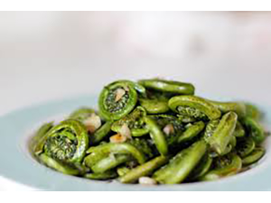 Simply in Season Fiddleheads Ramps and Wild Leeks Class - start May 01 2019 0430PM
