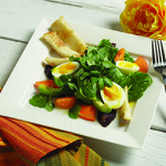 Silky Egg Cress Salad