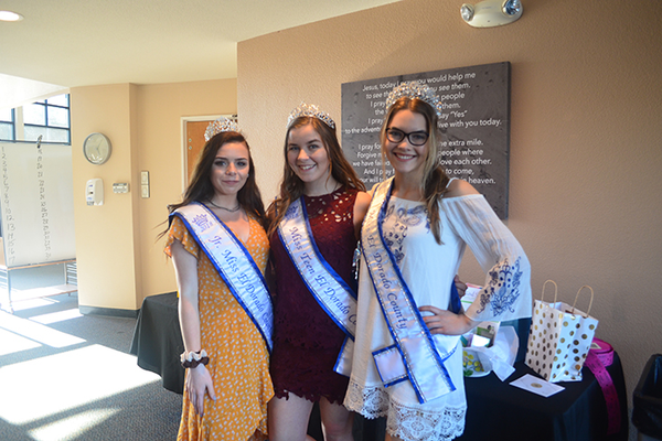 Jr. Miss El Dorado County, Miss Teen El Dorado County, and Miss El Dorado County