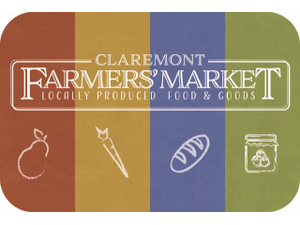 2019 Claremont Farmers Market - start May 25 2019 1000AM
