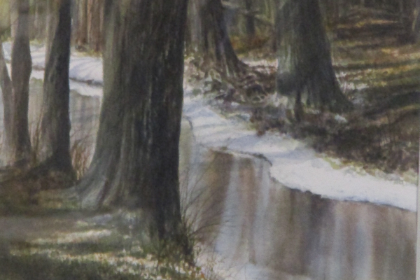 'Thin Ice on the West Branch'