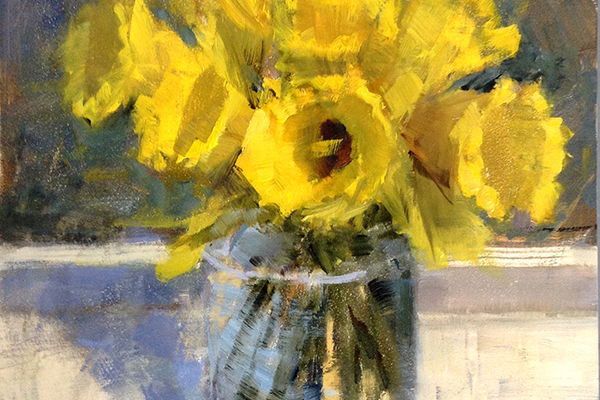 Spring Daffodils by Barbie Smith
