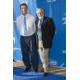 Dr David Pearce l receives the RARE Champion of Hope Award in CaliforniaHe is pictured with Dr John C Carey Professor and Vice Chair University of Utah Health Sciences Center and School of Medicine