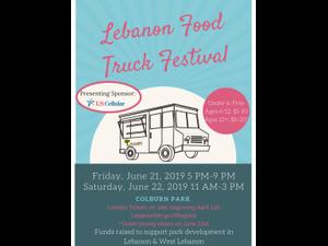 Food Truck Festival  - start Jun 22 2019 1100AM