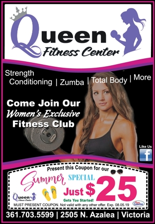 Queen 20fitness 20center 20  20vc 20  20june july 202019