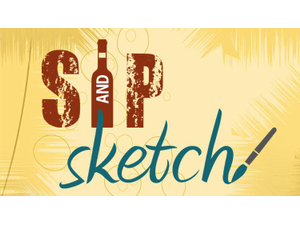 Sip and Sketch - start Jul 26 2019 0600PM