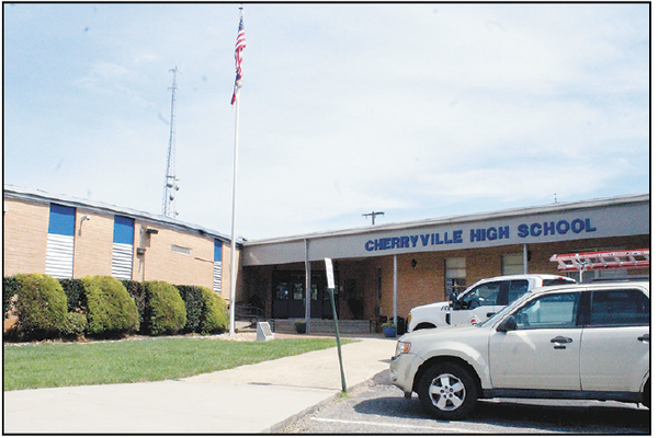 Cherryville High School is one of four Cherryville schools getting some repair and renovation work done over the summer.