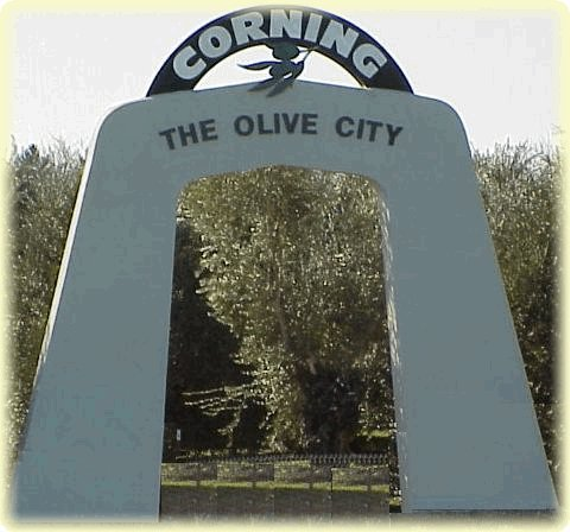 Corning olive city arch