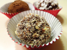 Sugar-free almond truffle recipe