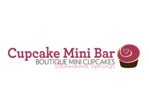 Cupcake mini bar header