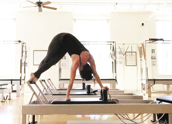 Elaine Ewing, owner of Rhinebeck Pilates
