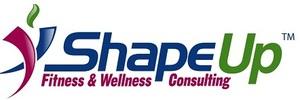 Medium shape up fitness logo