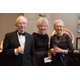Dr. George and Geraldine Settle, and Katherine Economides