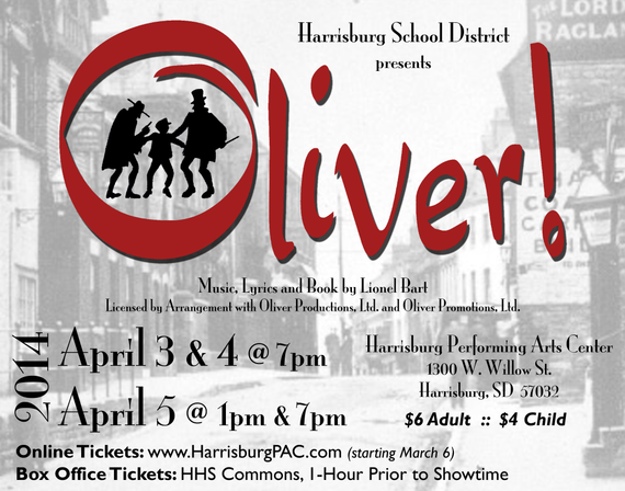 District musical poster guetter