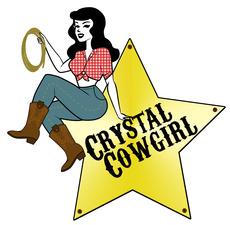 Medium crystal cowgirl logo