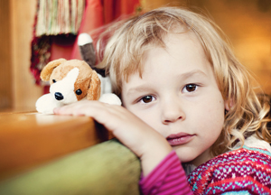 Child coping loss of pet