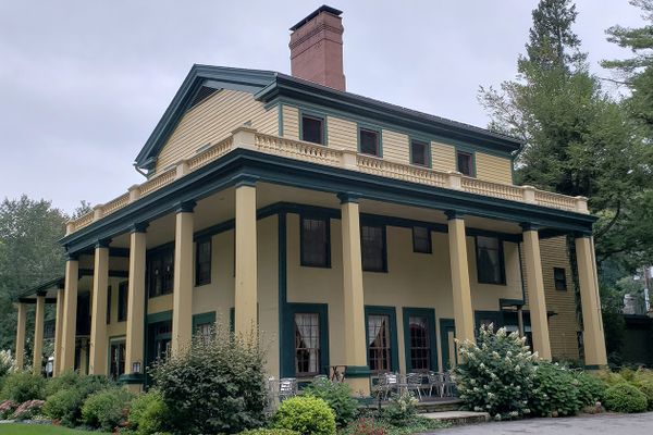 The Glen Iris Inn in Letchworth State Park