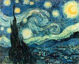 Medium gogh starry night