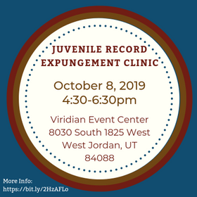 Expungement 20clinic  20west 20jordan