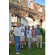 Members of the White Clay Creek Preserve are partnering with other local groups in the formation of a commission to preserve and protect the historic John Evans House in Landenberg Pictured from left to right are Scotty Crowder David Hawk Jim Martin Susan Moon Martin Wells and John Starzmann