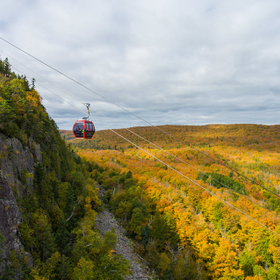 Lutsen 20mountains 20gondola 20ride 20with 20fall 20colors