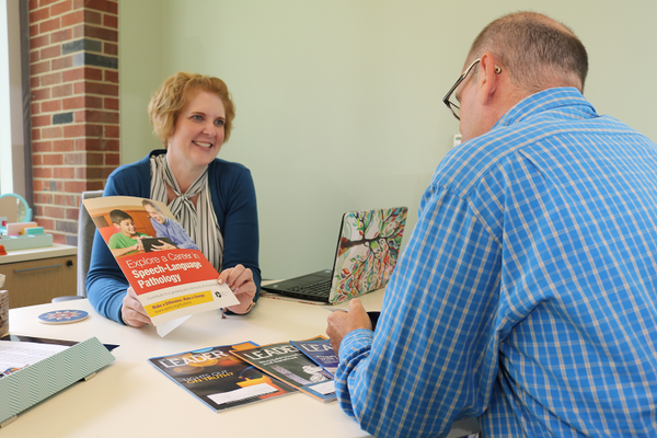 Master of Science in Speech-Language Pathology Program Director Mary Beth Mason, Ph.D., shares information on the program, which is currently enrolling students for classes that begin in May 2020.