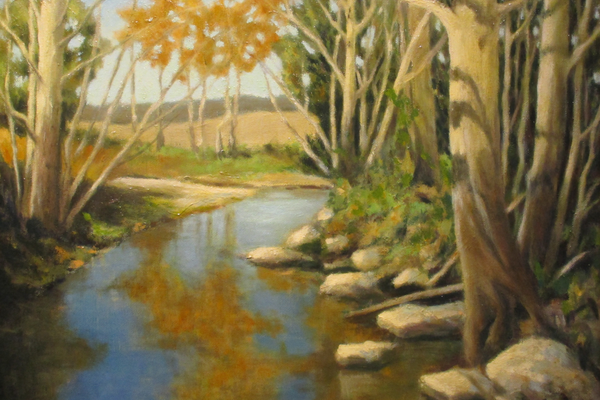 'The Brook' by Lidia Kohutiak.