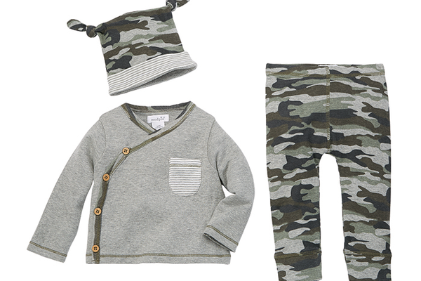 Mudpie Camo Take-Me-Home Set