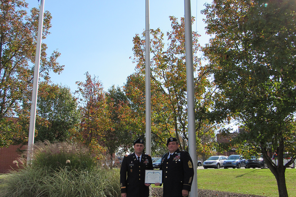 SV JROTC Receives Honor Unit with Distinction Award
