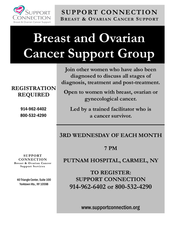Phc breast 20  20ovarian 20group evenings flyer