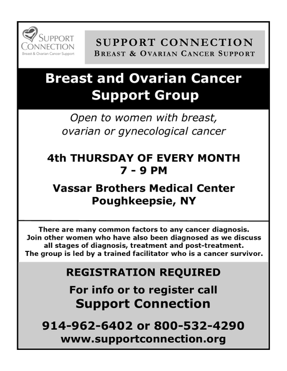 Breast And Ovarian Cancer Support Group