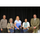 Team of the Year Awardees - Utility Billing Staff: Mayor Tim Brown, Sharon Brugman, Lucy Richardson, Ambrocia Dominas, and Erik Sund, Assistant City Manager.