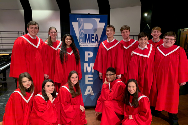 Fox Chapel Students Selected for PMEA District 1 Chorus