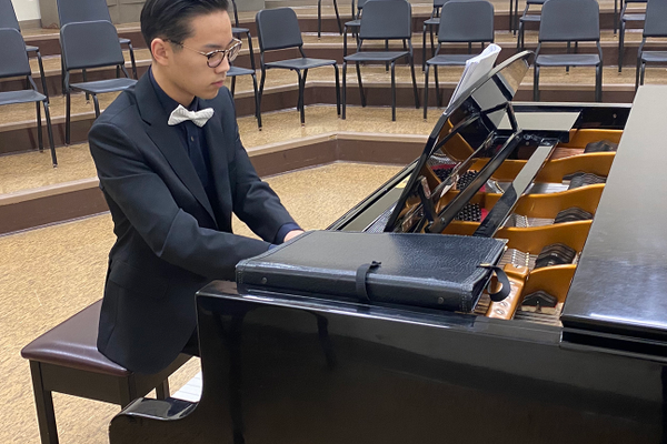 Choo Wins Butler Symphony Competition