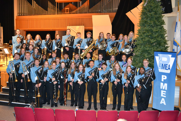 Seneca Valley Students Attend PMEA Band Festival