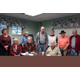 Standing L-R Karen Finch Prudence Cook Larry Pearson Diane Howell Don Russell and Larry Albert  Seated Beverly Trimm Paul Peter and John Kirby