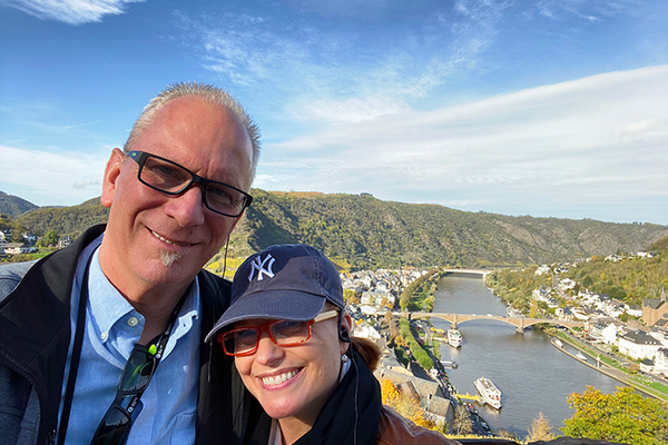 Terry & Wendy in Cochem, Germany