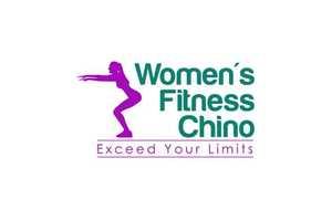 Medium logo womens fitness