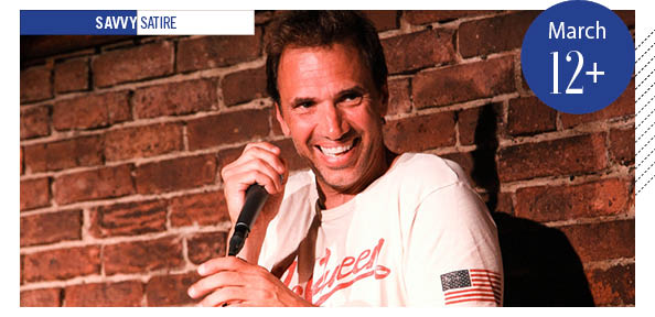 Paul Mecurio onstage
