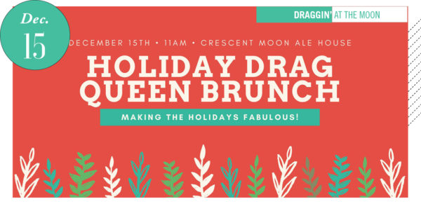 Holiday Drag Queen Brunch poster