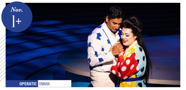 scene from Madama Butterfly