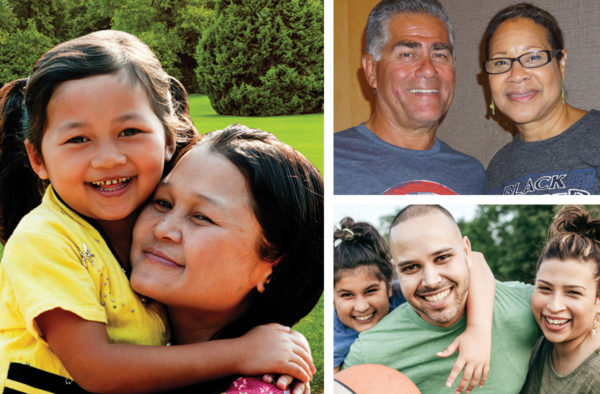 Heartland Family Services photo collage