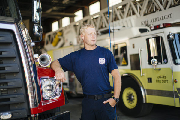 Valley Volunteer Fire Chief Mike Wiekhorst