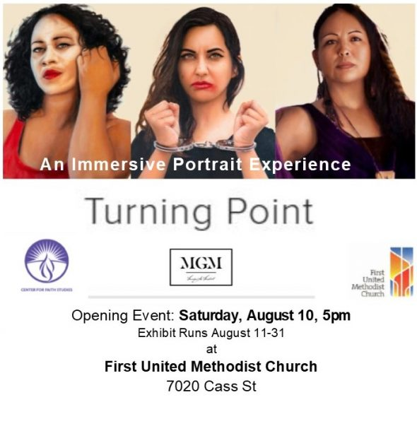 ad for Turning Point exhibition