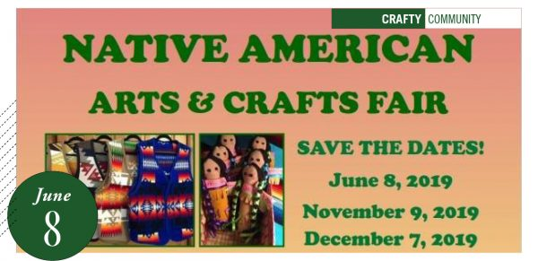Native American Arts/Craft Fair poster