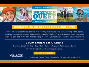 Summer Quest 2020 Villasport Camps