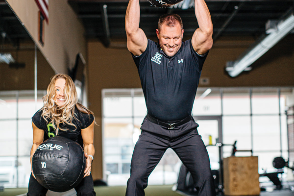 Drs. Claire and Mark Rathjen of C.O.R.E. Physical Therapy & Sports Performance