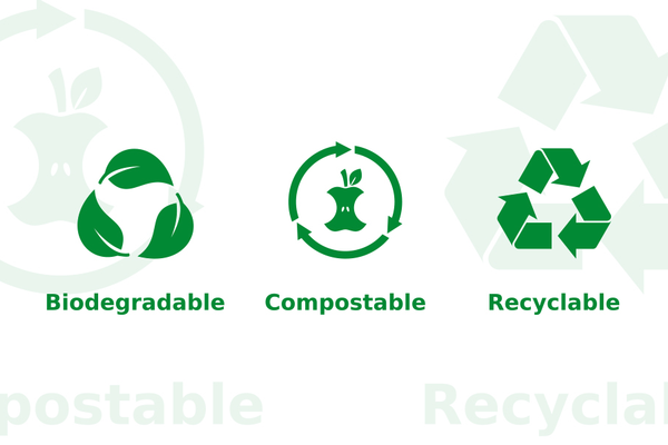 Biodegradable Compostable Recyclable